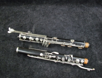 Photo Vintage SML King Marigaux Bass Clarinet - New Pads - Serial # 363