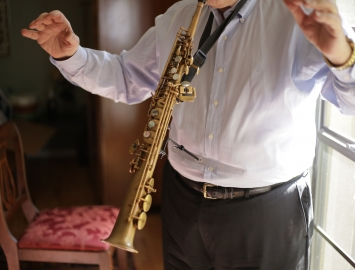 Photo Harvey Pittel Hand Eze Rest for Sax