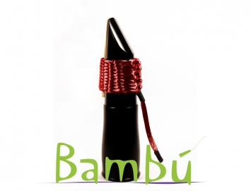 Photo New Bambu Hand Woven Ligature for Eb Clarinet